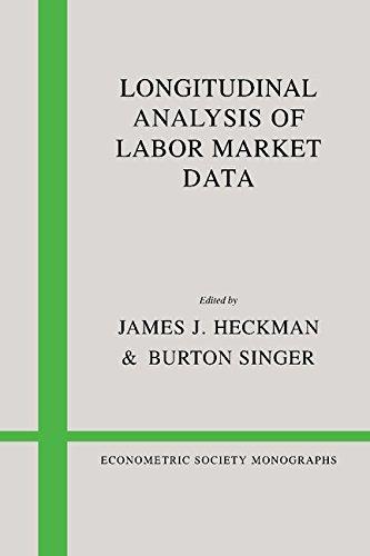 9780521304535: Longitudinal Analysis of Labor Market Data (Econometric Society Monographs)