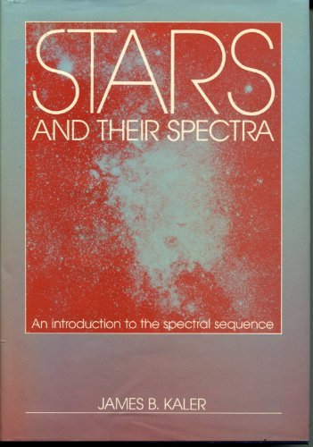 9780521304948: Stars and their Spectra: An Introduction to the Spectral Sequence