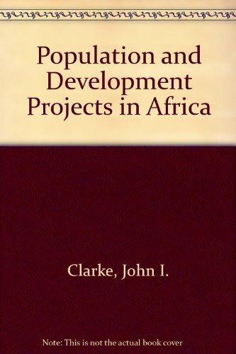 9780521305273: Population and Development Projects in Africa