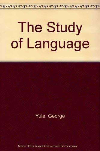9780521305310: The Study of Language