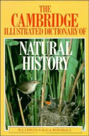 9780521305518: The Cambridge Illustrated Dictionary of Natural History