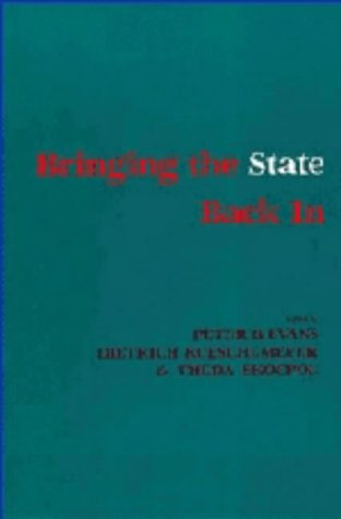 9780521307864: Bringing the State Back in