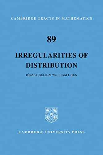 Irregularities of Distribution: Beck, Jozsef, and William W.L. Chen