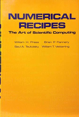 9780521308113: Numerical Recipes: The Art of Scientific Computing