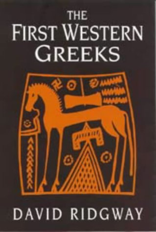 9780521308823: The First Western Greeks