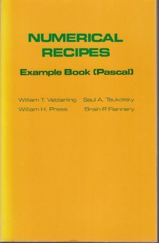 9780521309561: Numerical Recipes Example Book Pascal