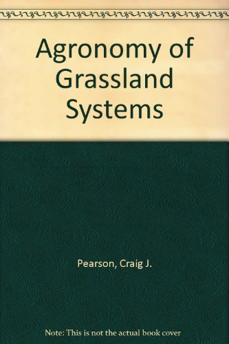 9780521310093: Agronomy of Grassland Systems