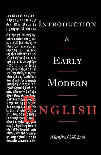 9780521310468: Introduction to Early Modern English Paperback