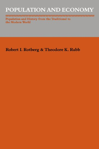 9780521310550: Population and Economy: Population and History from the Traditional to the Modern World (Studies in Interdisciplinary History)