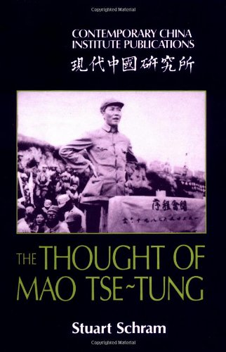 9780521310628: The Thought of Mao Tse-Tung (Contemporary China Institute Publications)