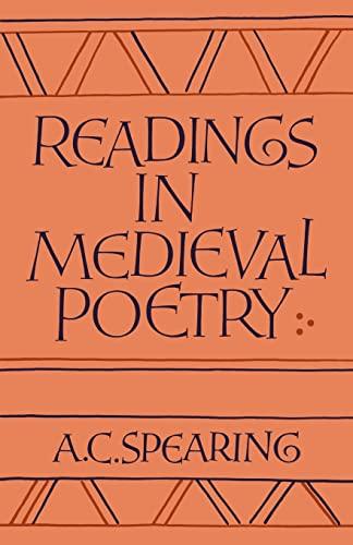 9780521311335: Readings in Medieval Poetry