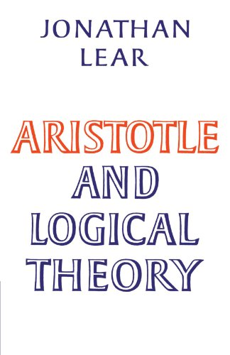 9780521311786: Aristotle and Logical Theory