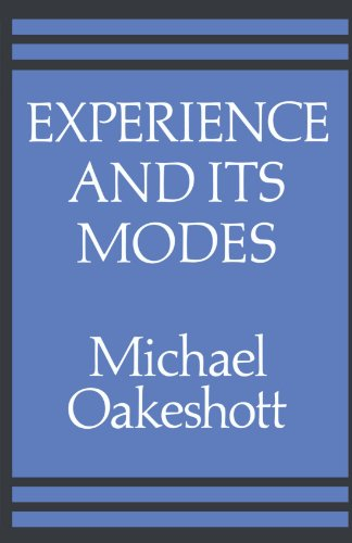 9780521311793: Experience and its Modes (Cambridge Paperback Library)