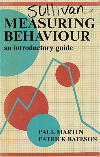 9780521311847: Measuring Behaviour:An Introductory Guide