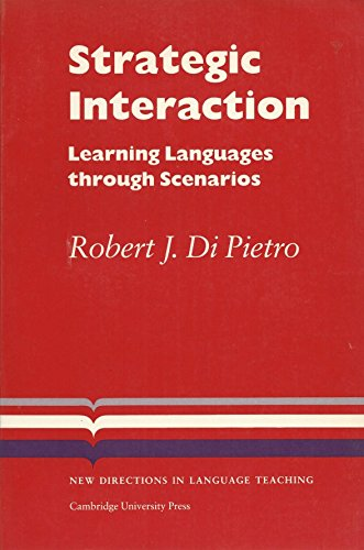 9780521311977: Strategic Interaction: Learning Languages through Scenarios