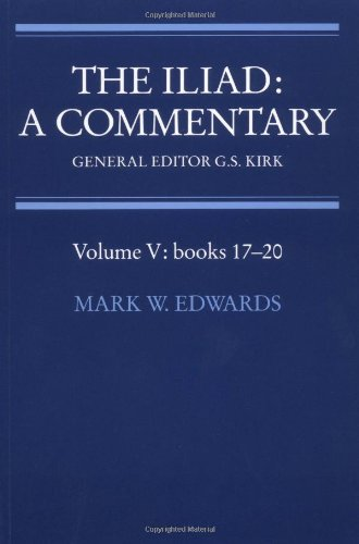 9780521312080: The Iliad: A Commentary: Volume 5, Books 17-20