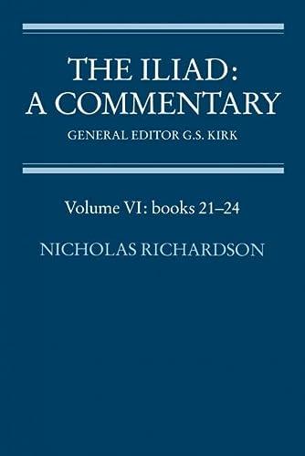 9780521312097: The Iliad: A Commentary: Volume VI: Books 21-24