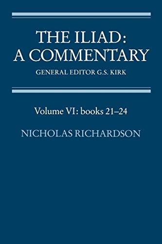 9780521312097: The Iliad: A Commentary (Volume VI: books 21-24)
