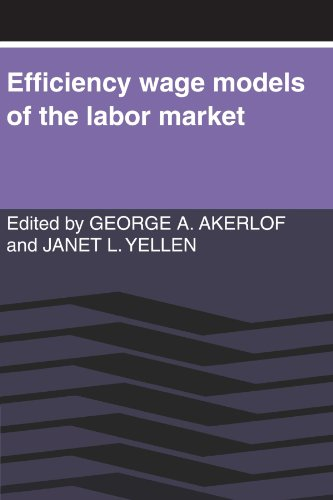 9780521312844: Efficiency Wage Models of the Labor Market Paperback