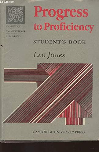 9780521313421: Progress to Proficiency Std Book