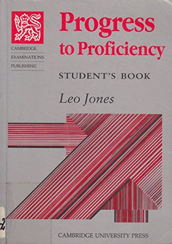 9780521313438: Progress to Proficiency Teachers' Book (Teachers Bk)