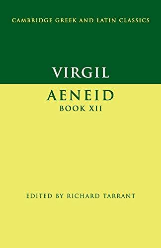 9780521313636: Virgil: Aeneid Book XII (Cambridge Greek and Latin Classics)