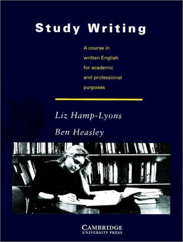 9780521315586: Study Writing: A Course in Written English for Academic and Professional Purposes