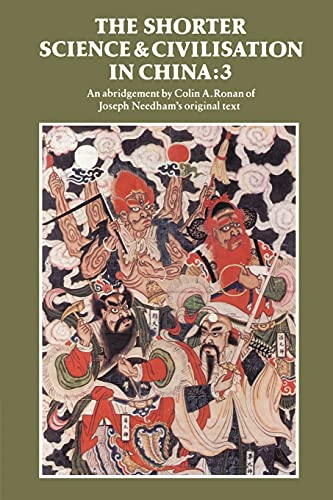 9780521315609: Shorter Science and Civilisation in China: Volume 3