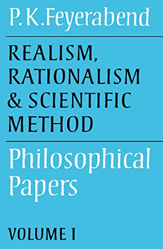 9780521316422: Realism, Rationalism and Scientific Method: Volume 1: Philosophical Papers (Philosophical Papers, Vol 1)