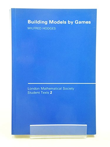 9780521317160: Building Models by Games