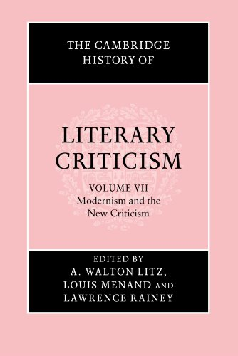 9780521317238: The Cambridge History of Literary Criticism, Vol. 7: Modernism and the New Criticism