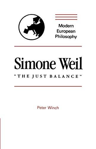 9780521317436: Simone Weil: