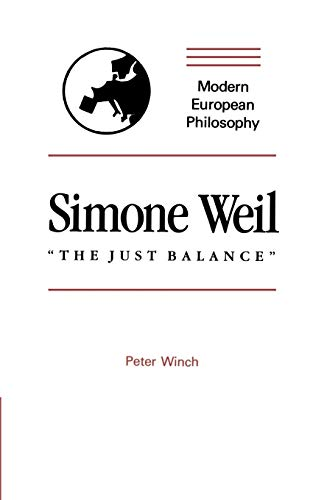 the philosophy of simone weil essay (1982) simone weil et spinoza: essai d'interprétation québec: naaman gray, francine du plessix (2001) simone weil viking press irwin, alexander (2002) saints of the impossible: bataille, weil, and the politics of the sacred minneapolis: university of minnesota press mccullough, lissa (2014) the religious philosophy of simone weil.