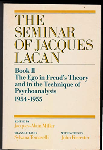 9780521318013: The Seminar of Jacques Lacan: Book 2: The Ego in Freud's Theory and in the Technique of Psychoanalysis 19541955 (Bk. 2)