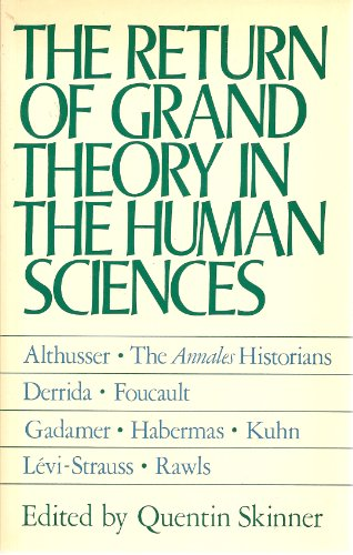 9780521318082: The Return of the Grand Theory in the Human Sciences