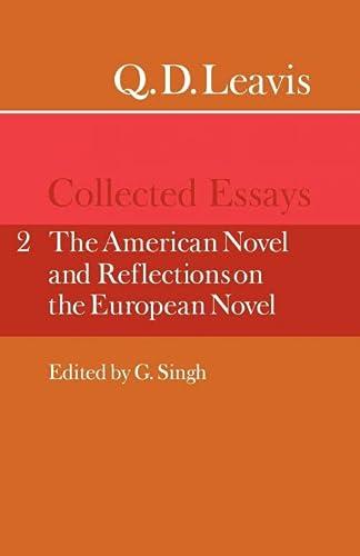 Q. D. Leavis: Collected Essays: Volume 2,: Leavis, Q. D.
