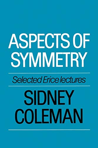 9780521318273: Aspects of Symmetry Paperback: Selected Erice Lectures