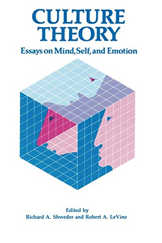 9780521318310: Culture Theory: Essays on Mind, Self and Emotion