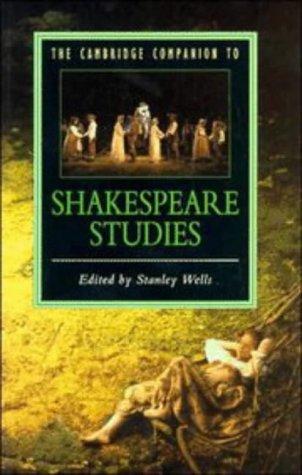 9780521318419: The Cambridge Companion to Shakespeare Studies (Cambridge Companions to Literature)