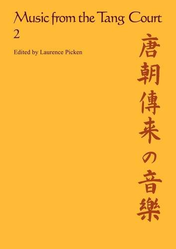 9780521318587: Music from the Tang Court