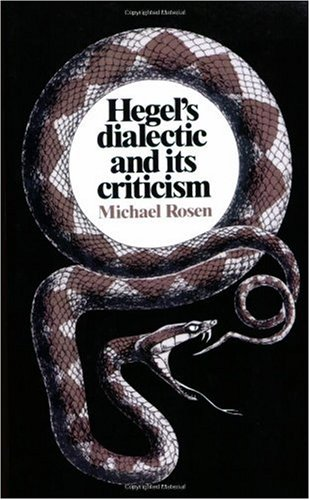 9780521318600: Hegel's Dialectic and its Criticism