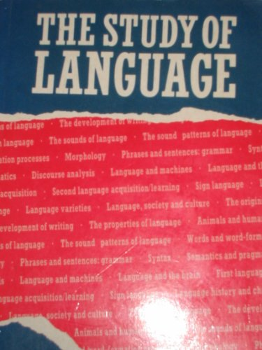 9780521318778: The Study of Language