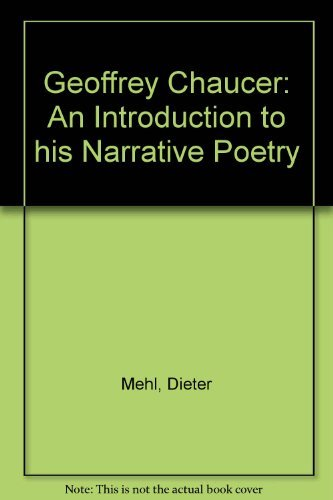 9780521318884: Geoffrey Chaucer: An Introduction to his Narrative Poetry