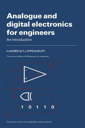 9780521319102: Analogue and Digital Electronics for Engineers: An Introduction (Electronics Texts for Engineers and Scientists)