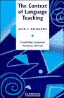 9780521319522: The Context of Language Teaching (Cambridge Language Teaching Library)