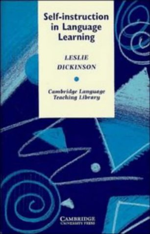 9780521319676: Self-instruction in Language Learning (Cambridge Language Teaching Library)