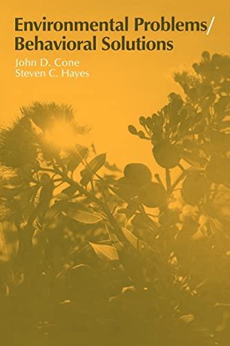 9780521319737: Environmental Problems/Behavioral Solutions (Environment and Behavior)