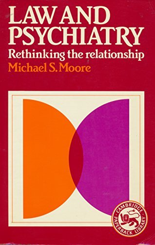9780521319782: Law and Psychiatry: Rethinking the Relationship (Cambridge Paperback Library)