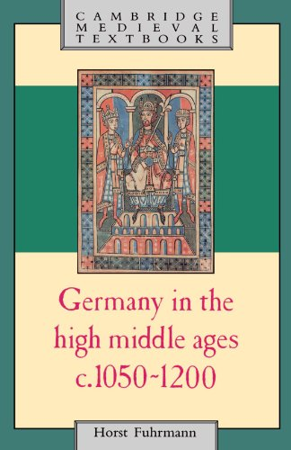 9780521319805: Germany in the High Middle Ages: c.1050-1200 (Cambridge Medieval Textbooks)