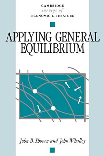 9780521319867: Applying General Equilibrium Paperback (Cambridge Surveys of Economic Literature)